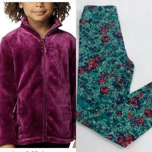 Super soft sweater and leggings lularoe 32 degree